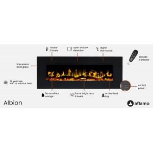 ЕЛЕКТРОКАМІН AFLAMO ALBION 33