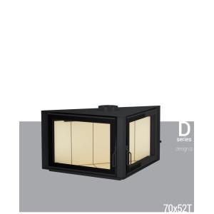 Дизайнерський камін G&S 70x52T