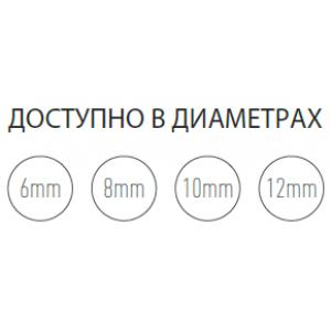 ШНУР ИЗ КЕРАМИЧЕСКОГО ВОЛОКНА HANSA Ø 6 ММ, ДЛИНА 2,5 М
