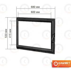 Дверцы для камина KAWMET W11 530x680