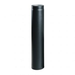 Труба сталева чорна 1м. d120