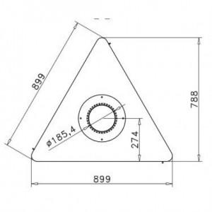 Дизайнерский камин Rocal Born