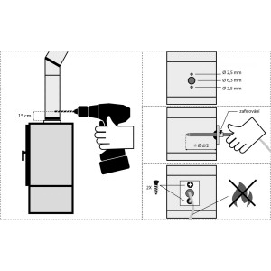 ECO 10 - автоматика управления горением для печей (D=120 мм)