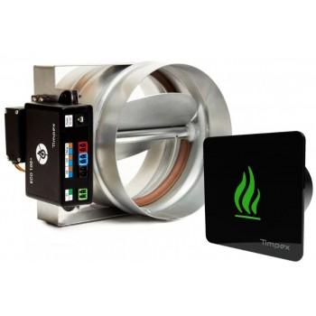 ECO 100+ - автоматика управління горінням для камінів (D=100 мм)