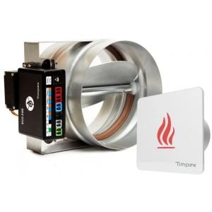 ECO 200 - автоматика управления горением для каминов (D=100 мм)