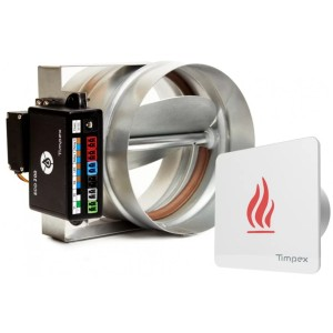 ECO 200 - автоматика управления горением для каминов (D=150 мм)