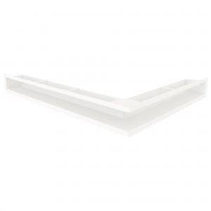 Вентиляційна решітка для каміна кутова ліва SAVEN Loft Angle 9х60х80
