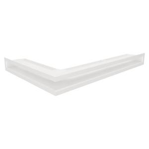 Вентиляційна решітка для каміна кутова ліва SAVEN Loft Angle 6х60х40 біла