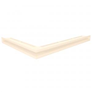 Вентиляційна решітка для каміна кутова ліва SAVEN Loft Angle 6х80х60 кремова