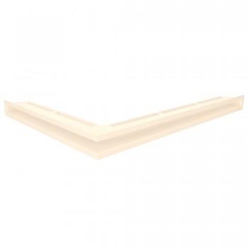 Вентиляционная решетка для камина угловая левая SAVEN Loft Angle 6х80х60