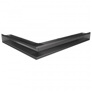 Вентиляційна решітка для каміна кутова ліва SAVEN Loft Angle 9х80х60