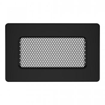 Вентиляционная решетка для камина SAVEN 11х17 черная