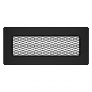 Вентиляционная решетка для камина SAVEN 11х24 черная