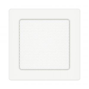 Вентиляційна решітка для каміна SAVEN 17х17 біла