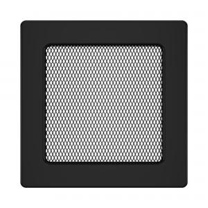 Вентиляційна решітка для каміна SAVEN 17х17 чорна