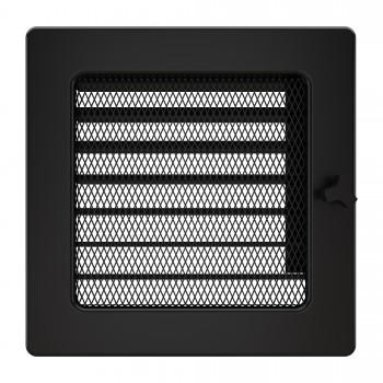 Вентиляционная решетка для камина SAVEN 17х17 с жалюзи