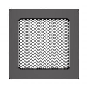 Вентиляційна решітка для каміна SAVEN 17х17 графітова