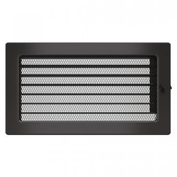 Вентиляционная решетка для камина SAVEN 17х30 c жалюзи