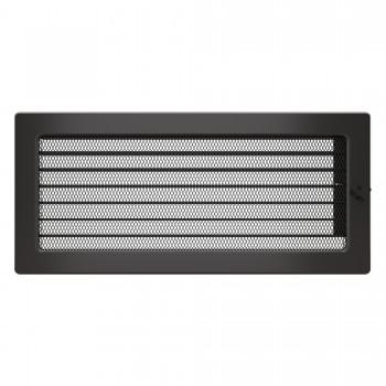 Вентиляционная решетка для камина SAVEN 17х37 c жалюзи