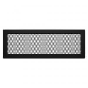 Вентиляционная решетка для камина SAVEN 17х49 черная