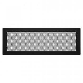 Вентиляционная решетка для камина SAVEN 17х49