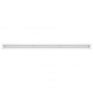 Вентиляционная решетка для камина SAVEN Loft 6х100 белая