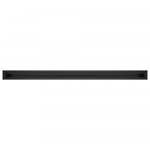 Вентиляционная решетка для камина SAVEN Loft 6х100 черная