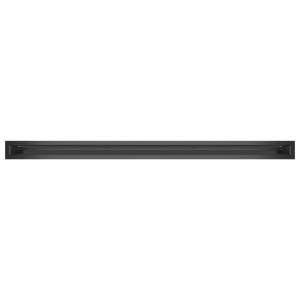 Вентиляционная решетка для камина SAVEN Loft 6х100 графитовая