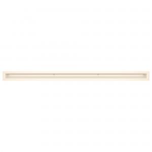 Вентиляционная решетка для камина SAVEN Loft 6х100 кремовая