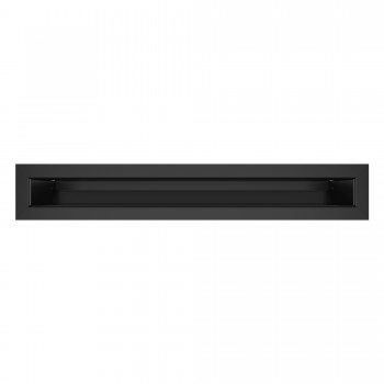 Вентиляционная решетка для камина SAVEN Loft 6х40 черная
