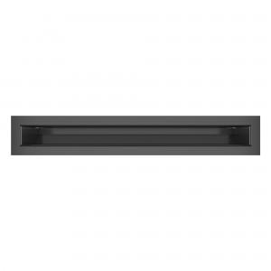 Вентиляційна решітка для каміна SAVEN Loft 6х40 графітова