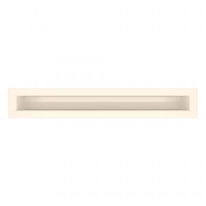 Вентиляційна решітка для каміна SAVEN Loft 6х40 кремова