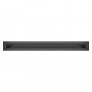 Вентиляційна решітка для каміна SAVEN Loft 6х60 графітова