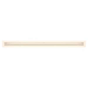 Вентиляционная решетка для камина SAVEN Loft 6х80 кремовая
