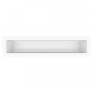 Вентиляционная решетка для камина SAVEN Loft 9х40 белая