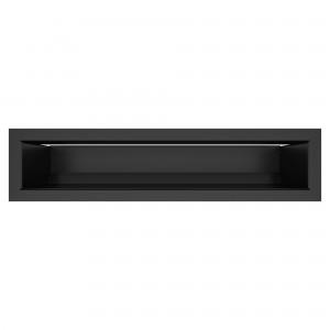 Вентиляционная решетка для камина SAVEN Loft 9х40 черная