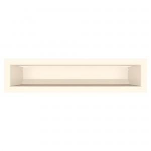 Вентиляционная решетка для камина SAVEN Loft 9х40 кремовая