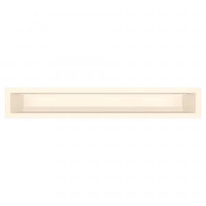 Вентиляционная решетка для камина SAVEN Loft 9х60 кремовая