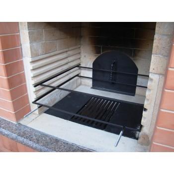 Барбекю (Садовая печь) вариант 4