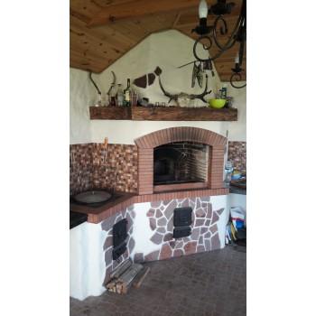 Барбекю (Садовая печь) вариант 6