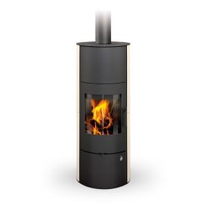 Romotop EVORA 01 AKUM - аккумуляционная печь - облицовка керамика