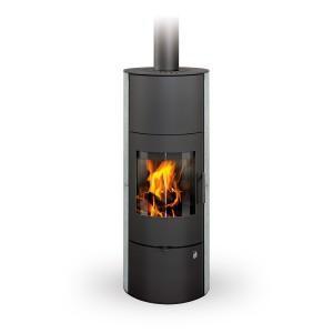Romotop EVORA 02 AKUM - аккумуляционная печь - облицовка натуральный камень