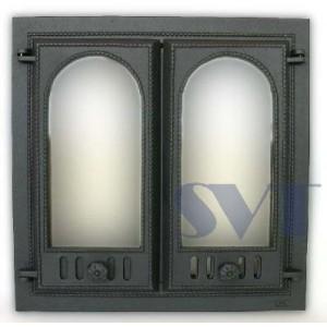 Каминная дверца чугунная SVT 400
