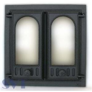 Каминная дверца чугунная SVT 401