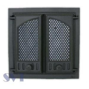 Каминная дверца чугунная SVT 404