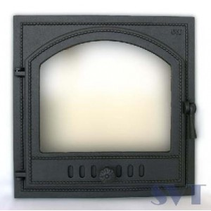 Каминная дверца чугунная SVT 406