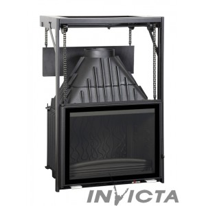 Каминная топка INVICTA 700 GRAND ANGLE RELEVABLE