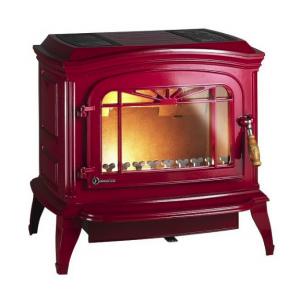 Печь-камин BRADFORD красная эмаль Invicta